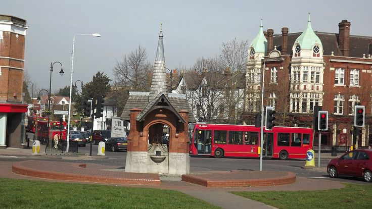 Wanstead Green and the turning into Wanstead High Street