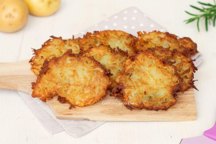 Frittelle di Patate velocissime (senza uova)