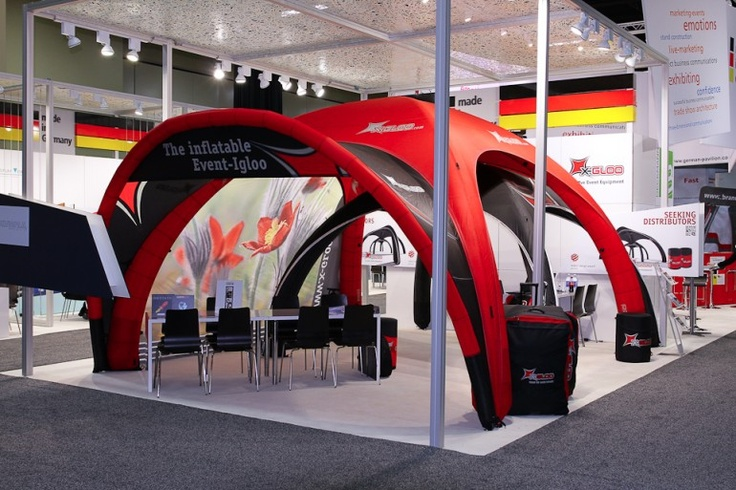 Trade Show | X-GLOO 6x6 with Side Wall and Canopy