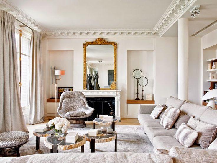 1000 ideas about parisian chic decor on pinterest for Interieur appartement parisien