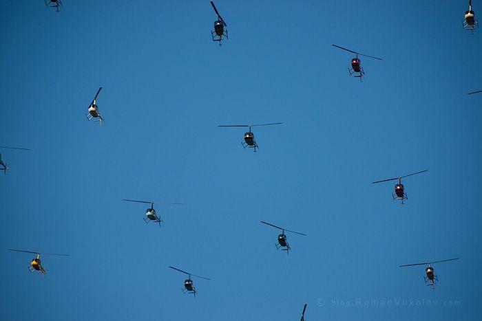Как российские вертолётчики рекорд устанавливали