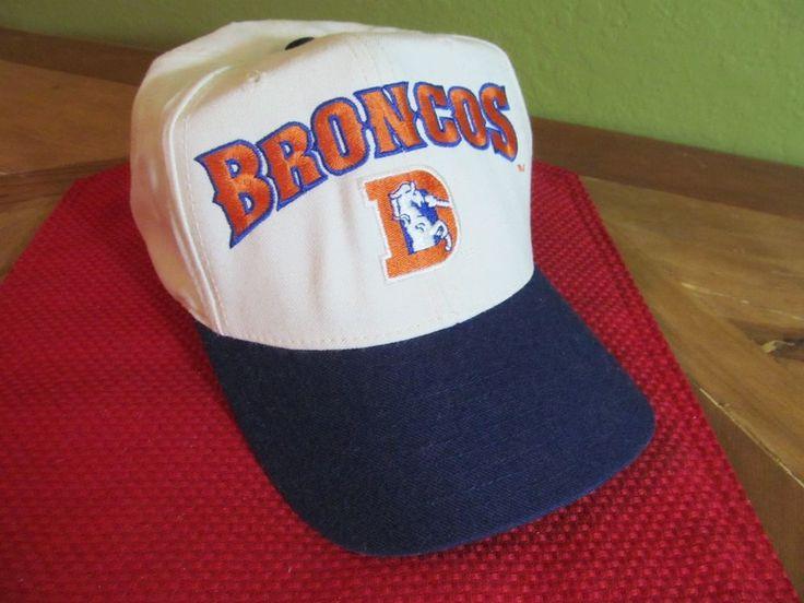 Nike NFL Pro Line Authentic Denver Broncos Hat Cap 90's #Nike #DenverBroncos