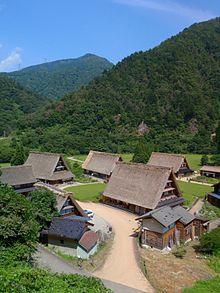 Historic Villages of Shirakawa-gō and Gokayama - Wikipedia