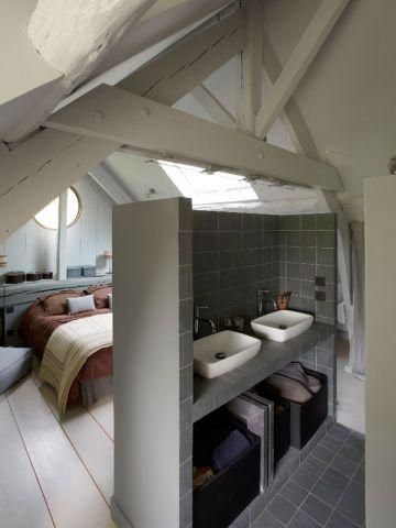 7 best Combles images on Pinterest Attic spaces, Attic apartment