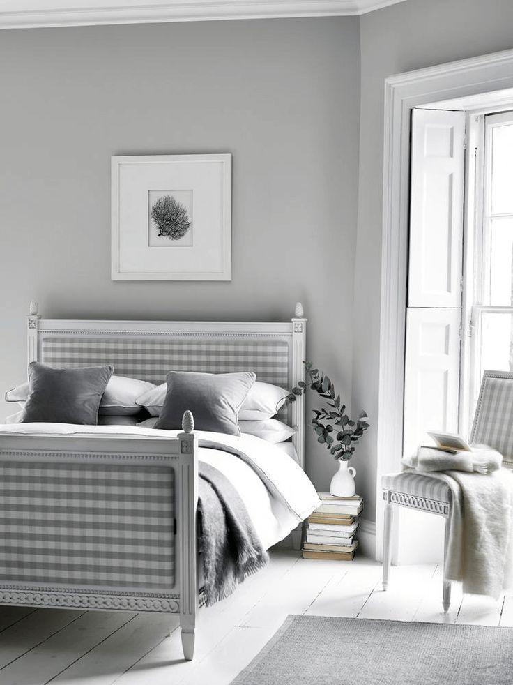 Die besten 25+ Weiß graue Schlafzimmer Ideen auf Pinterest - schlafzimmer weiß grau