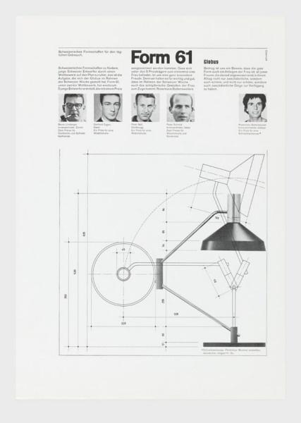 Form 61 Globus, 1961  Siegfried Odermatt