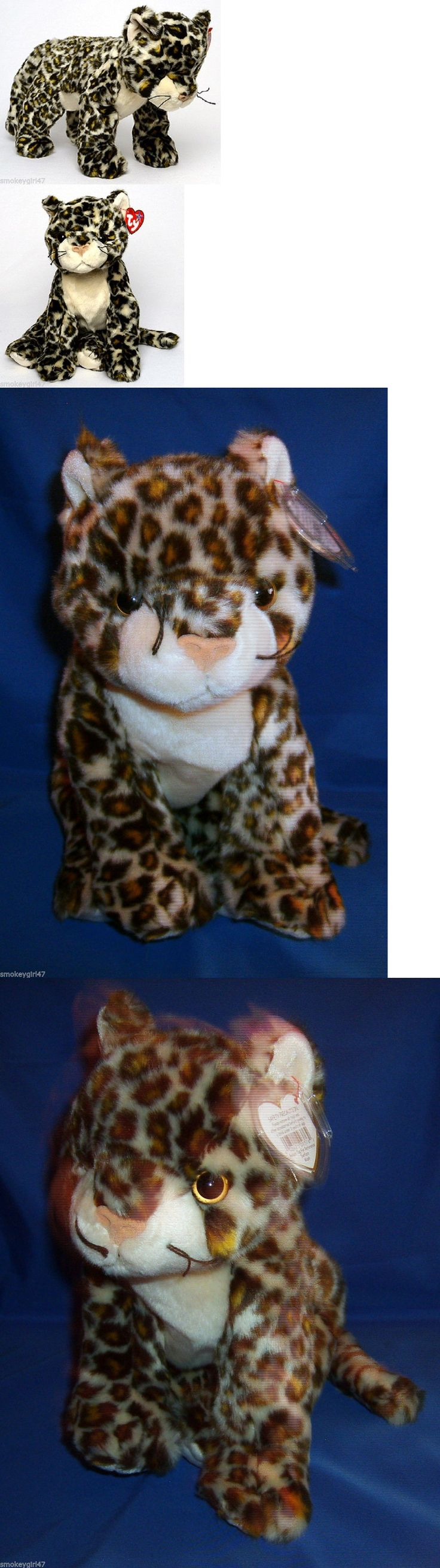 Retired 19207: Ty Sneaky The Leopard Beanie Buddy 2000 - 10.5 Inches, Nwmt -> BUY IT NOW ONLY: $38 on eBay!