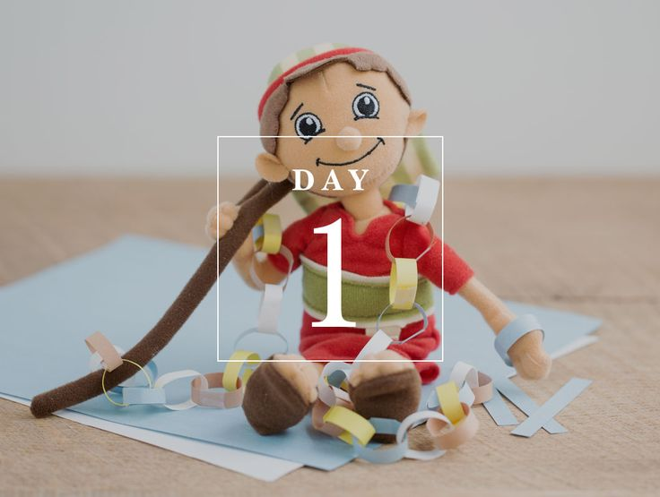 Shepherd on the Search  Daily ADVENTure Day 1 : Paper Chain Countdown & Meet the Shepherd  Christian elf on the shelf alternative #Shepherdonthesearch