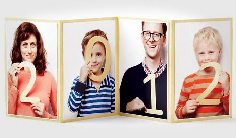 Idée de carte de voeux pour 2012