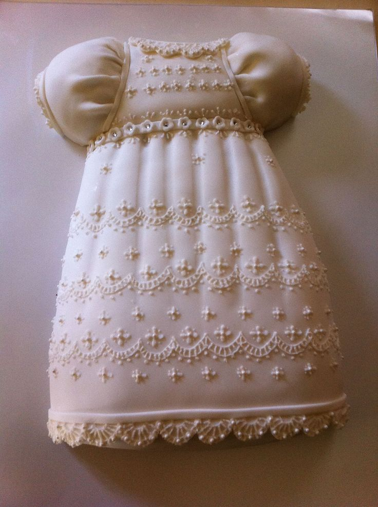 https://flic.kr/p/9rQeWJ | christening dress cake