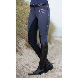 Pantalón de equitación -Seaside- 1/1 Aplicación Alos