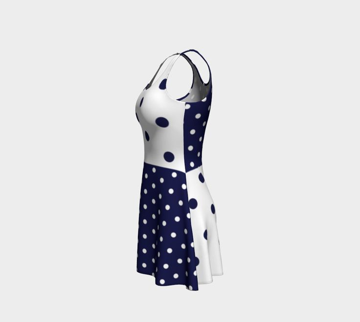 Navy dots preview #2
