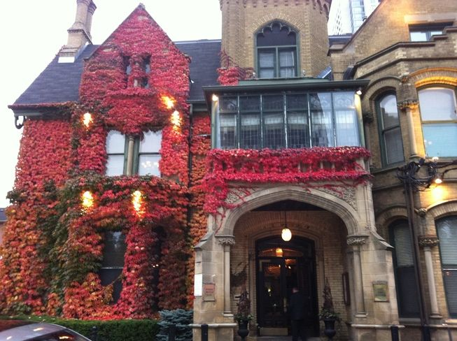 Keg Mansion in the Fall - Just beautiful