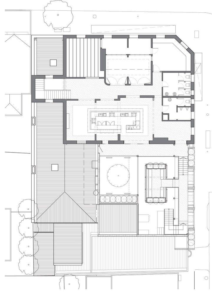 Prahran Hotel,Plan