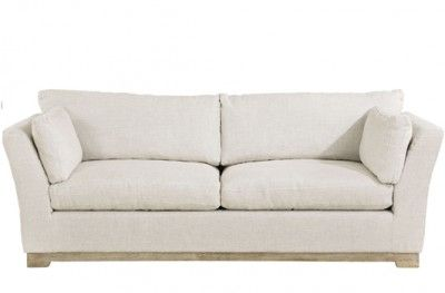 Soho 3-seter 3 seat couch artwood linen sand swedish design www.helsetmobler.no