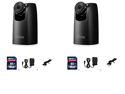 Brinno TLC200PRO Time Lapse Camera Two Pack + 16GB SD Card + Power Supply + USB Data Cable. TWO-PACK BUNDLE INCLUDES- 2 TLC200Pro Time Lapse Cameras, 2 16GB SD Card+ 2 Wall Power Supply + 2 USB Data Cable. The Brinno TLC200 PRO is built with a HDR ( High Dynamic Range: 115dB) image sensor making the creation of high quality Time Lapse Videos a snap! With Brinno ready-to-view technology, we give you a real Time Lapse Video, not thousands separate photos, no complicated post-processing…
