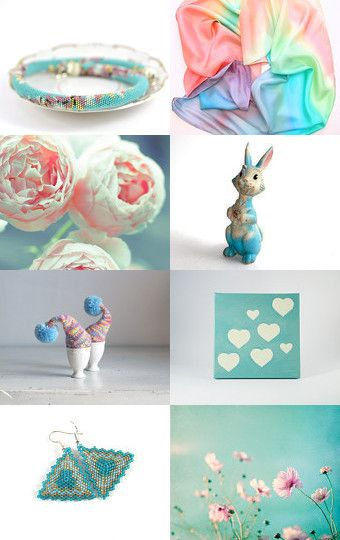 ~~~Stepping Into The Spring~~~ by Joanna on Etsy--Pinned with TreasuryPin.com