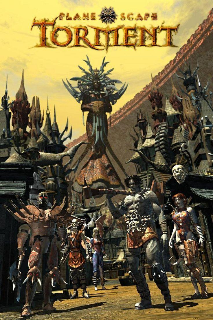 Planescape Torment. An RPG Masterpiece.
