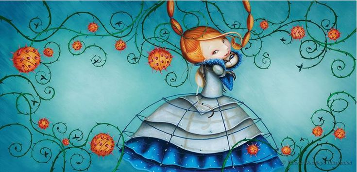 Dangerously Ever After by Valeria Docampo. Illustration.