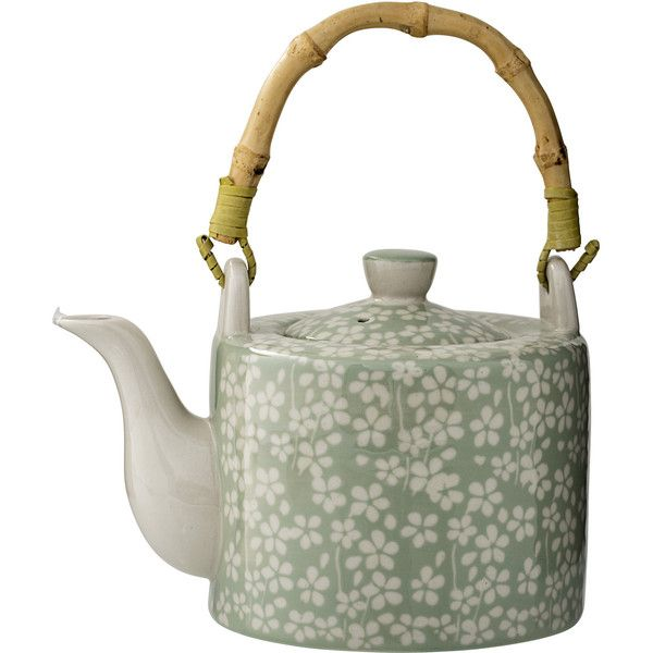 Bloomingville Carla Ceramic Teapot You'll Love | Wayfair (35 AUD) ❤ liked on Polyvore featuring home, kitchen & dining and bloomingville