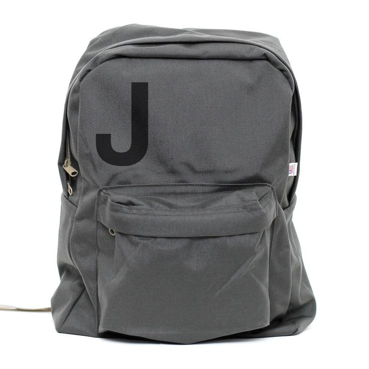 Backpack: Helvetica Monogram Backpack, Personalized Backpack, Monogram Backpack, Laptop, College, Men's Backpack, Women's Backpack, Rucksack by mediumcontrol on Etsy https://www.etsy.com/listing/199488575/backpack-helvetica-monogram-backpack