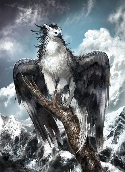 Pin by jerseydee fago on there be dragons other beasts of lore in 2019 mythical creatures - A picture of a griffin the creature ...