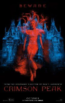 Crimson Peak, the long awaited movie from Guillermo del Toro,  cast includes Charlie Hunnam, Tom Hiddleston, Jessica Chastain, and Mia Wasikowska.
