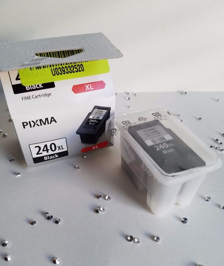 Empty Canon PG-240 xl  Black Ink Cartridge - Never Refiled #Canon