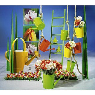 Deco idea de decoraci n con jardines de primavera for Decoration jardin printemps