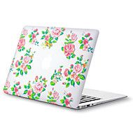 MacBook Case for MacBook Air 13-inch Macbook Air 11-inch MacBook Pro 13-inch with Retina display Flower TPU Material – NZD $ 30.83