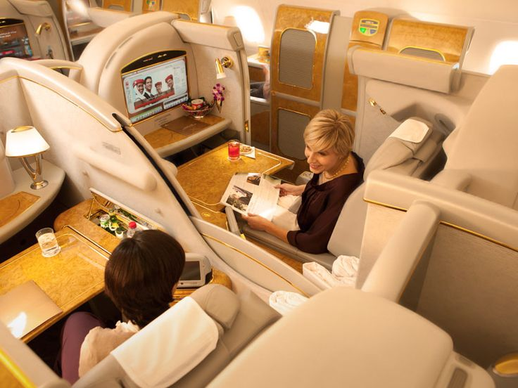 Emirates A380 First Class Private Suite -  What a way to travel!  Must do when kids are a little. Older or staying back with mom...