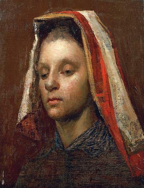 Giuseppe Pellizza - La sfinge 1887