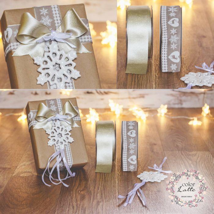 E' il dettaglio che compone l'essenza. Un fiocco di neve e la luce giusta per una confezione elegante e naturale.