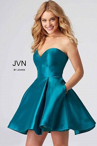 Sweetheart Neckline Short Dress