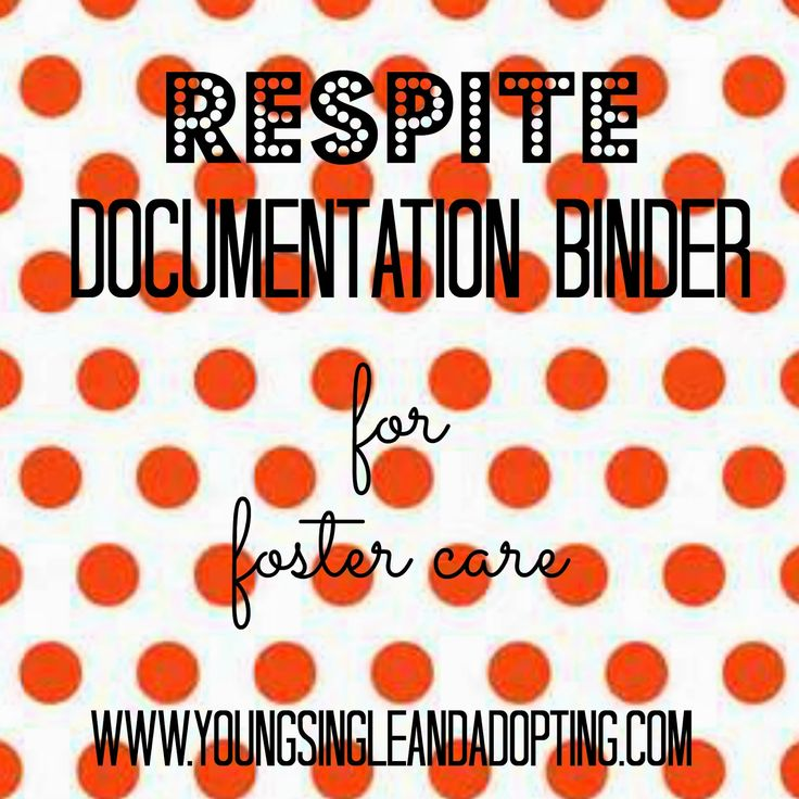 One of the most popular posts on this blog is the Foster Care Binder  to keep track of all the documentation that goes along with fosteri...