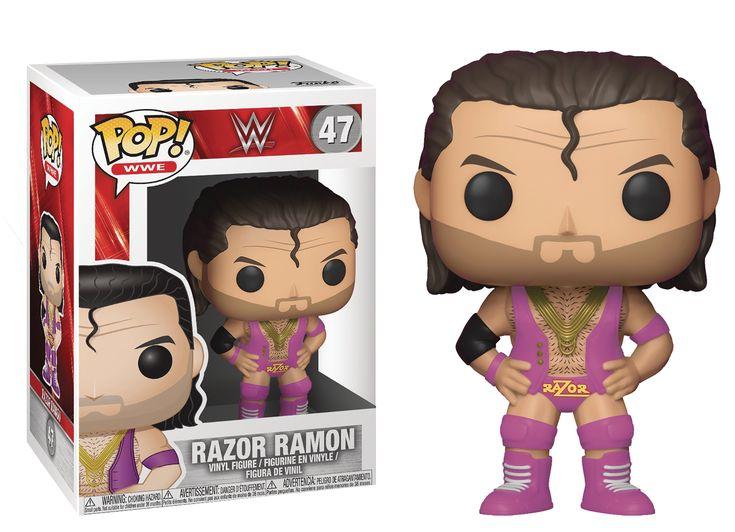 POP WWE RAZOR RAMON VINYL FIGURE