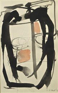Stephen Gilbert (1910-2007) was een Britse schilder en beeldhouwer . Hij was een van de weinige Britse kunstenaars in de avant garde beweging in Parijs. Zijn werk is geïnspireerd door Masson , en door het lezen van Jung , Nietzsche en Jakob Böhme , met fantastische wezens en planten geschilderd in levendige kleuren. In 1948, raakt hij bevriend met de Deense kunstenaar Asger Jorn , en dit leid tot zijn lidmaatschap van de Cobra kunst groep.