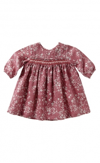 Purebaby Woven Dress with Smocking
