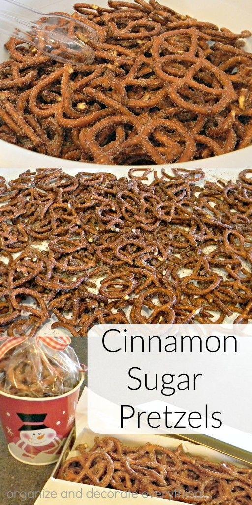 Cinnamon Sugar Pretzels   Organize and Decorate Everything   Bloglovin'