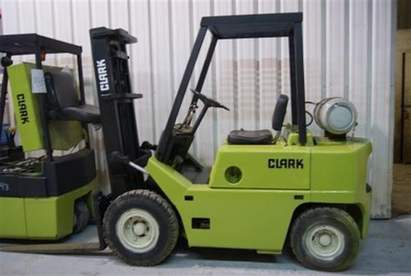Clark C500 y80 Operators manual Jlg 600ss