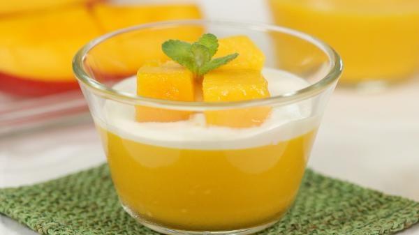 Mango Pudding Recipe マンゴープリン 作り方 レシピ