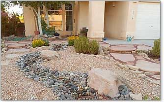 Xeriscaping: desert river rock yard ideas_  Google Image Result for http://www.homebuyinginstitute.com/landscaping/images/river-rock-landscaping.jpg