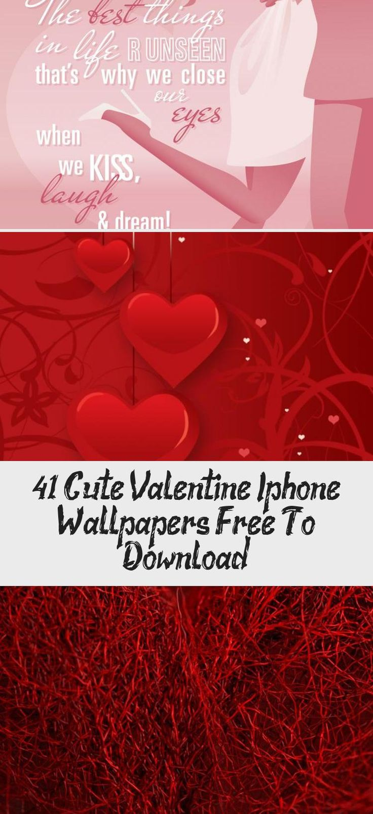 Valentine Hearts Aplenty Iphone 5 Wallpapers
