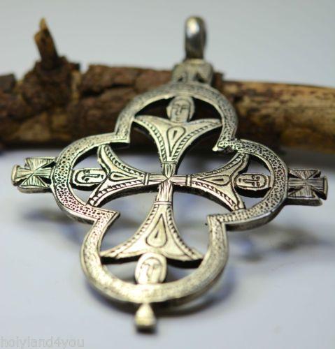 HOLY-Cross-Romantic-Classic-Vintage-Retro-Huge-Jewelry-Silver-Pendant-Women-Girl