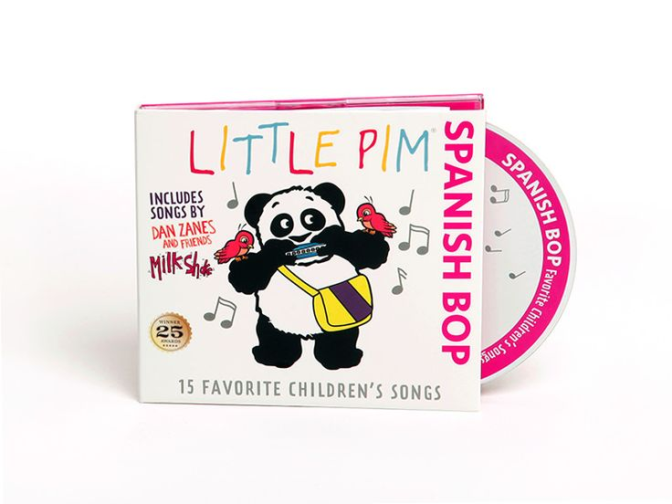 The Spanish Bop Album will have your whole family singing while learning Spanish at the same time! This 15-song collection features 3 original songs by Milkshake and Dan Zanes, a megastar on the kids music circuit. www.Ygrowup.net #EducationalToys #KidsToys #BabyToys #ToddlerToys