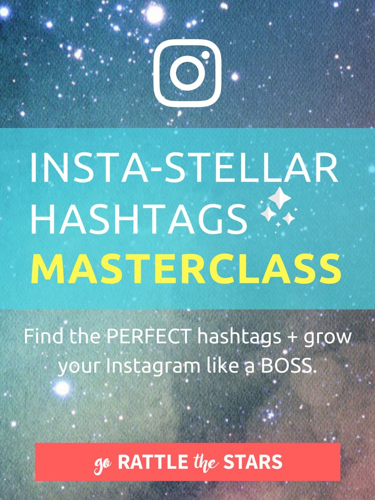 Find the 30 hashtags that are perfect for YOUR SPECIFIC brand. Reach your target audience, increase engagement, and grow you Instagram following -- learn how to do it all in this 40 minute video masterclass.