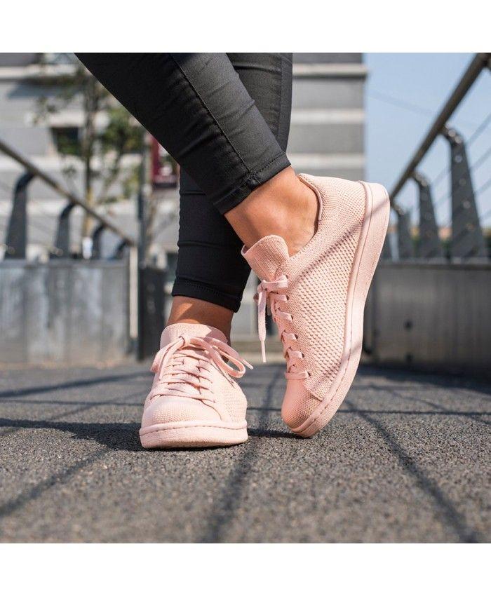 Extra Desplazamiento Bailarín  Adidas Stan Smith Primeknit Rose Gold Trainers | Rose gold adidas, Adidas  stan smith, Beige trainers