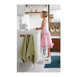 $5   IKEA - FÖRSIKTIG, Children's stool, , Anti-slip cover on top reduces the risk of slipping.Anti-slip material on the underside makes the stool stand steady.