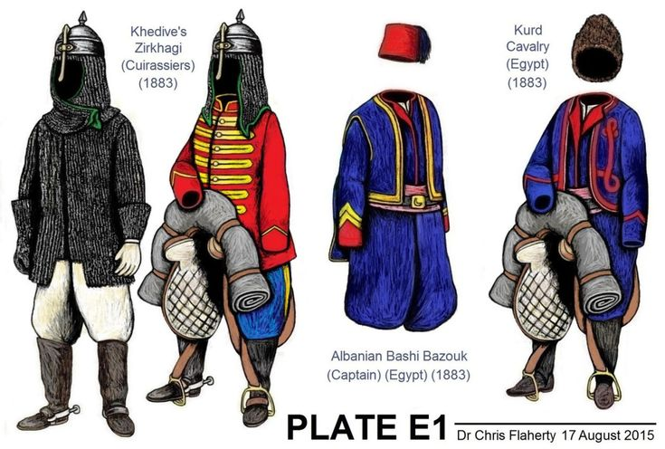 Ottoman Turkish Uniforms WW1 History First World War Militaria Turkey Wargaming Military Insignia Uniform Crimea Crimean - EGYPT ARMY: HICKS EXPEDITION (1883)