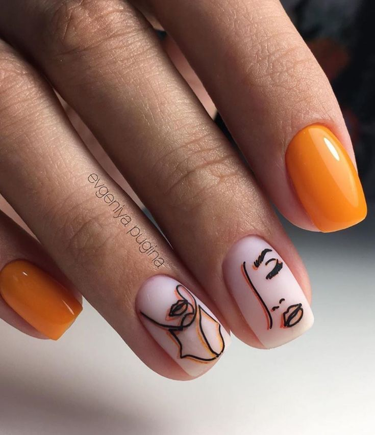 130+ Beautiful Manicure Nails For Short Nails Design Ideas -Square & Almond Nails - -  #almon...